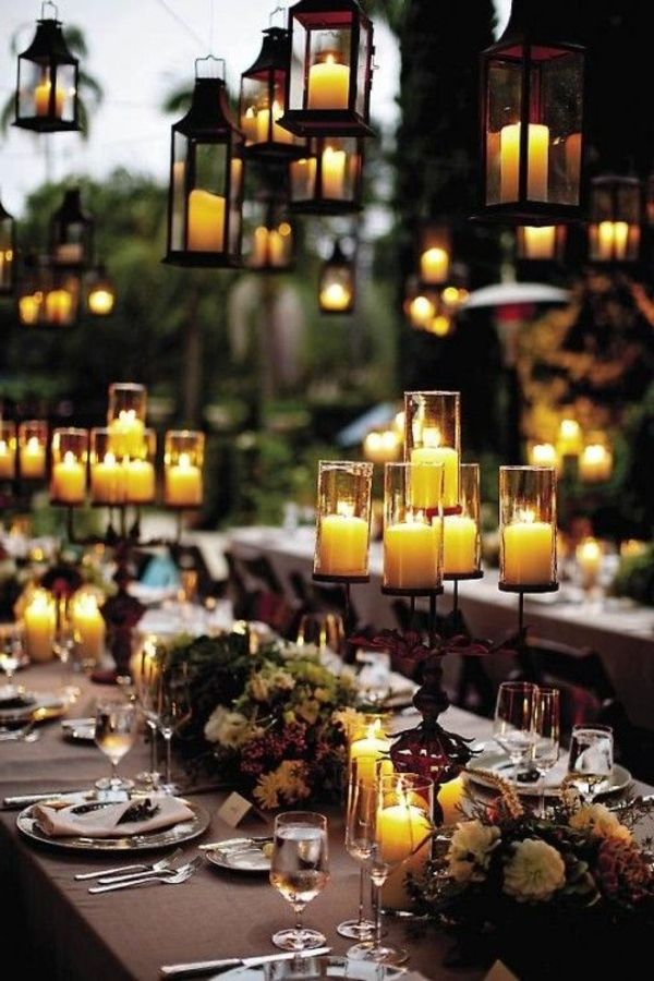 Gartendeko-party deco-ideas-beautiful-ideas - magic-lighting