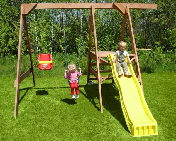 yellow-slide-and-swing-in-garden-landscaping-exterior-design