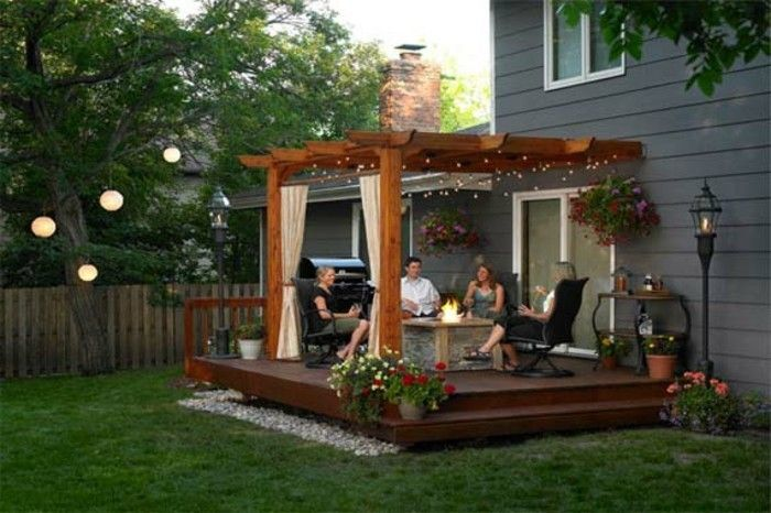 gemütichen-garden-design-beautiful-environment-modern-pergola-from-wood