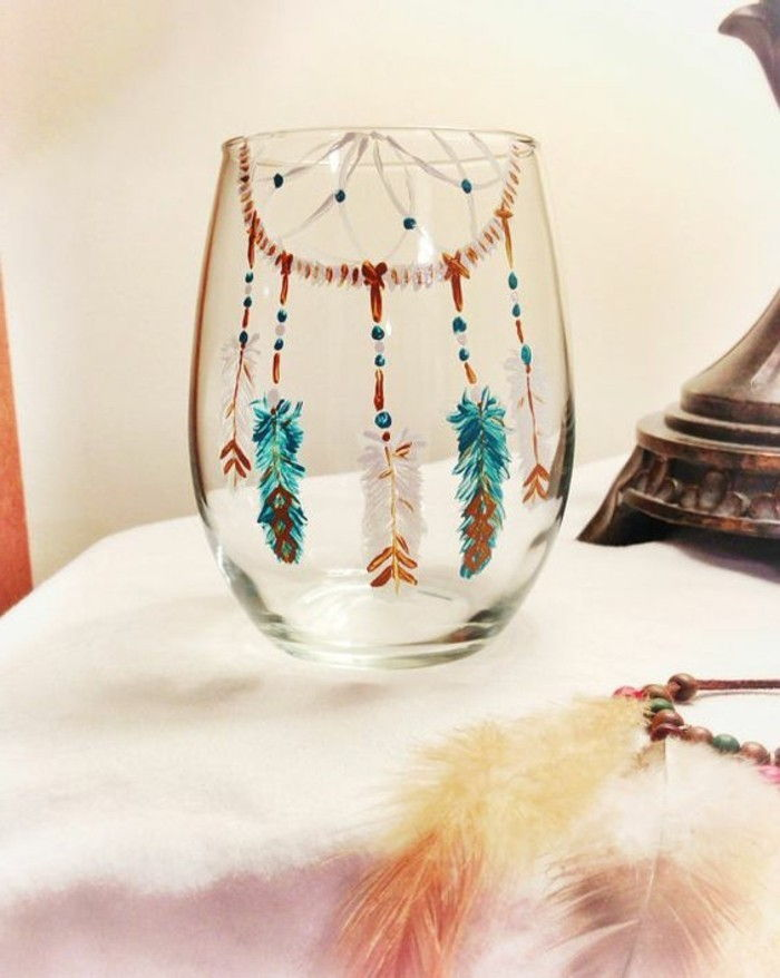 hand-painted-glass-in-boho style
