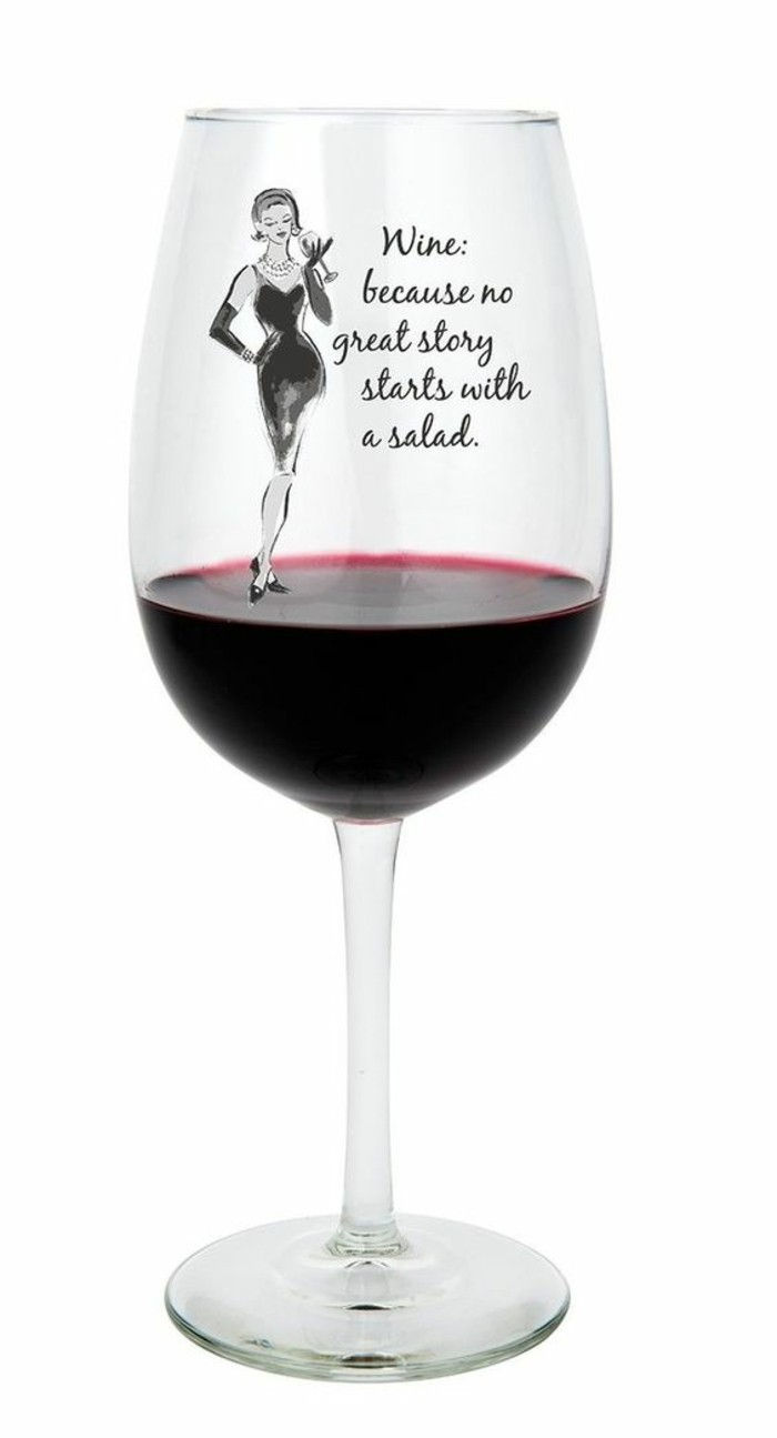 funny idea-for-red wine glasses Decoration