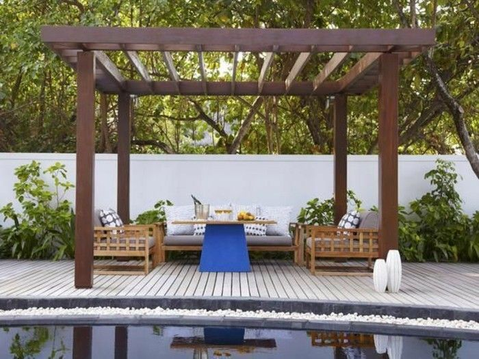 modern-pool design-with-pergola-from-wood