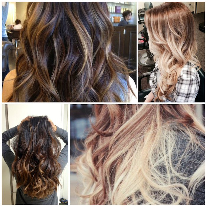brown blond ombre beautiful four ideas for hairstyles with ombre blonde hair ombre brown