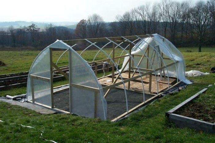 Planting close monitoring house-greenhouse-own-build-greenhouse-plastic-wood-greenhouse-favorable