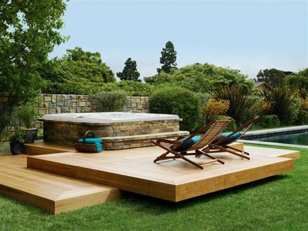 beautiful ideas-for-the-design-of-a-perfect-garden - with- -Whirlpool-