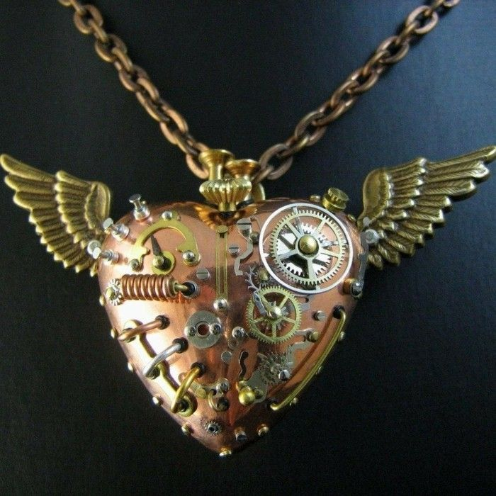 Fluegeln nice-steampunk-chain-with-hearts-and-