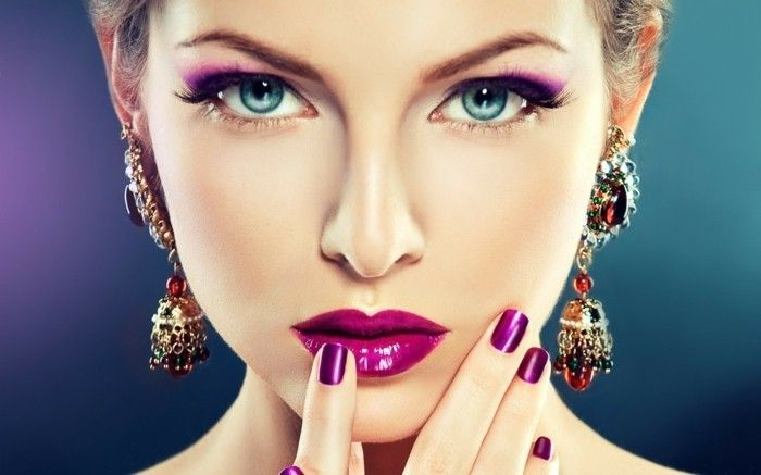 makeup-eye-exotic-look-by-make-up make-make-up-for-women-more beautiful-jewelry