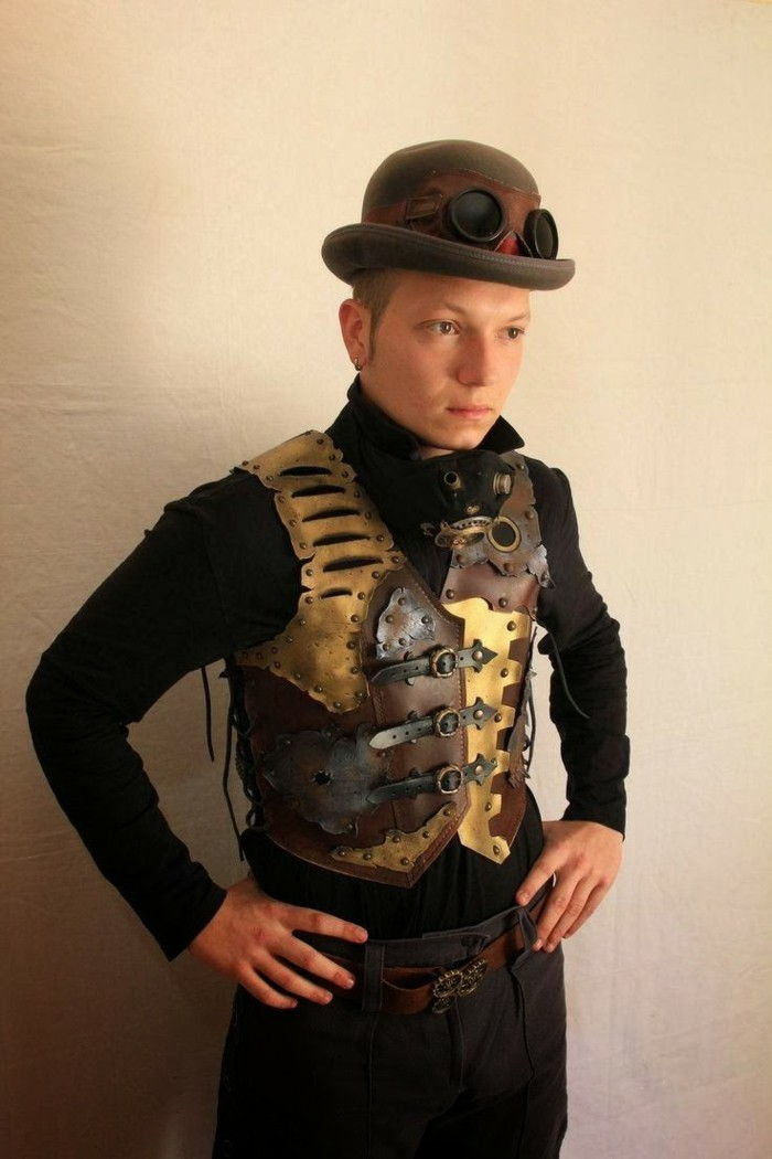 steampunk-clothes-for-men-steampunk-vest-and-steampunk-hat