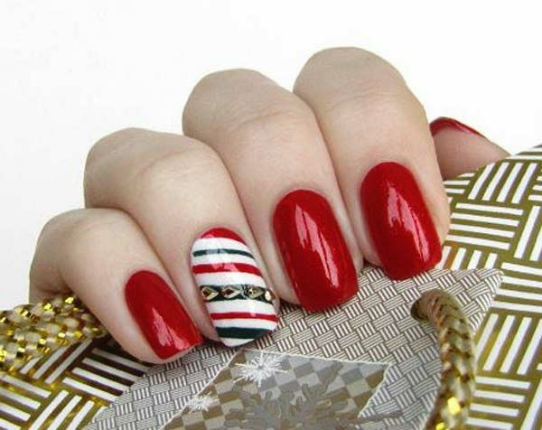 szuper nagy dekoráció Nails-by-Christmas Cool Ideas