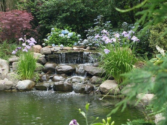 pond-plant-great-garden design-with-pond