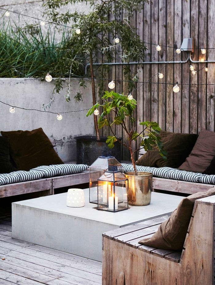 terrace design ideas beautiful decent decoration on the terrace vase flower lamps sofa pallets