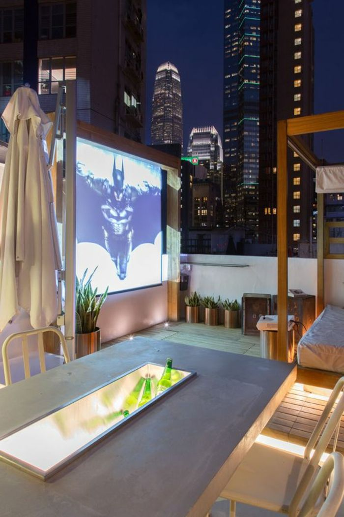 terrace design pictures of beautiful evening on the terrace movie night on roof terrace idea