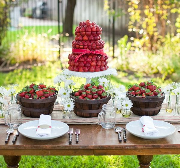 tischdeko - Gartendeko-ideas-for-a-fascinating-party-in-garden