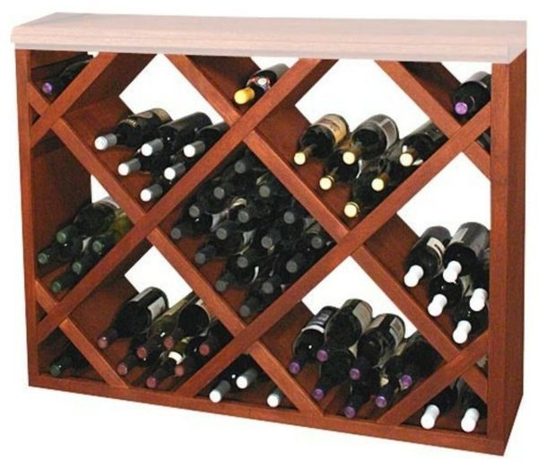 traditional-design-wine-cabinet-from-wood-build yourself