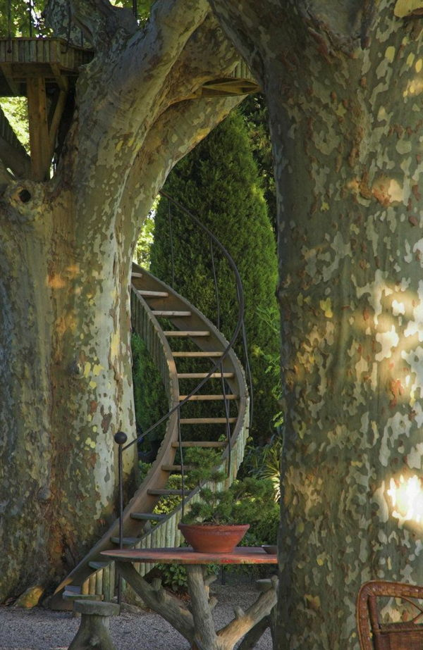 garden-like-build in-dream-stairs-in-the-tree-