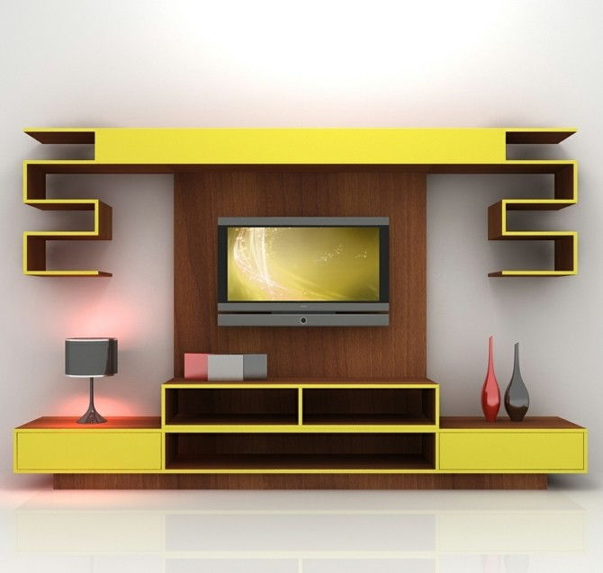tv-wall build-own-build-great-looking TV-wall-Self