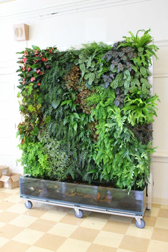 a mobile vertical garden if you need to move a lot