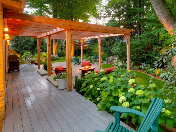 beautiful exotic-pergola-look-of-wood-cool