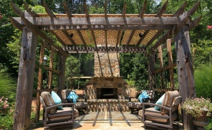 beautiful-design-pergola-of-wood-great-exterior