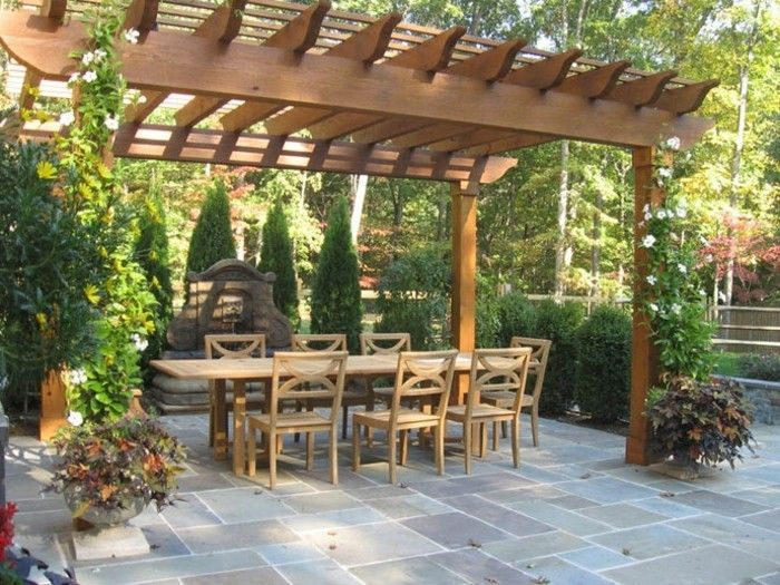 beautiful-model-pergola-of-wood-attractive-equipment-of-garden